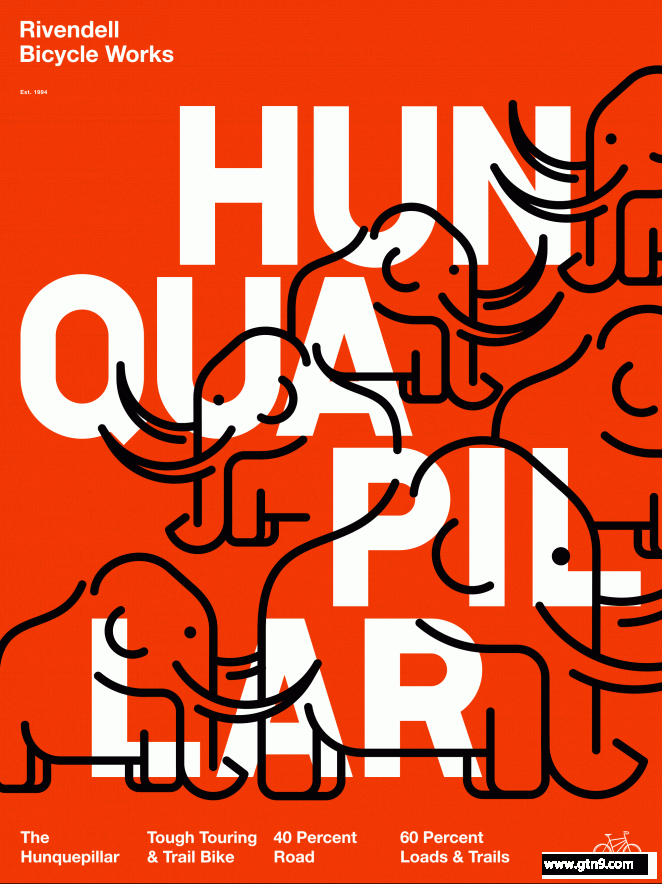 自行车厂视觉海报设计-古田路9号