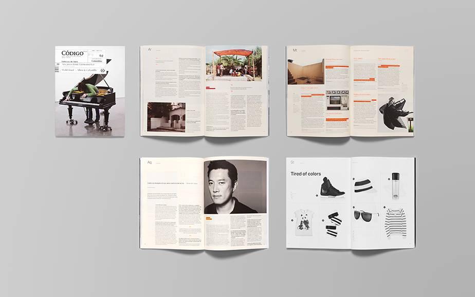 codigo 杂志版式设计-古田路9号-品牌创意/版权保护