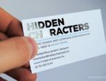 Hidden Characters 标志设计