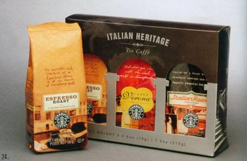 星巴克咖啡◎经典包装设计