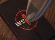 Dress2Kill 定制服饰品牌形象设计