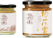 土蜂蜜粗粮品牌包装(山里人)形象整合