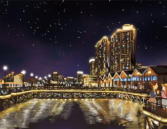 趣至绘馆出品:《一城一绘•广州站》