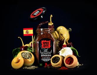 Spice City 厨房香料品牌包装设计