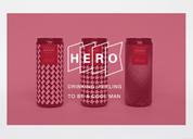 #燃烧吧毕设#HERO WINE品牌形象设计