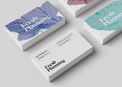 伦敦Fresh Planning战略研究机构品牌形象设计