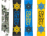 Contract Snowboards 2010 图形设计