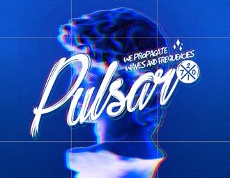 Pulsar-成都DJ厂牌工作室logo