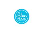 "BLUE PLATE  ""蓝盘子""品牌视觉形象设计"