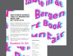 挪威卑尔根书籍设计展海报宣传设计