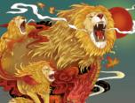 湖南卫视2017《歌手》合作一组国风插画