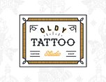 Oldy Tattoo Studio Badges & Apparel Designs 纹身工作室徽章标志设计