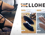 HELLOHEEL护脚垫包装设计