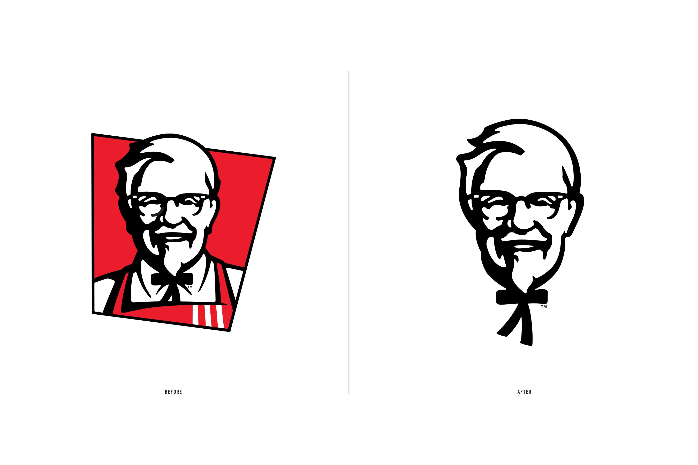 肯德基更新品牌视觉形象设计