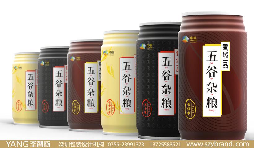 五谷杂粮包装设计 大米包装设计公司 粮油包装设计 农产品包装设计