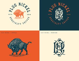Plug Nickel特色咖啡店品牌设计