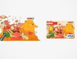 Lotte I Love Pet Card – Proposal 插画设计