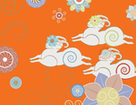 香港合子品牌設計作品 | 林奇苑茶行-乙未羊年生肖茶餅包裝設計