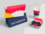 Huxtaburger 品牌包装形象