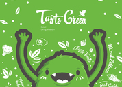 原创作品:Taste Green尝绿轻食沙拉
