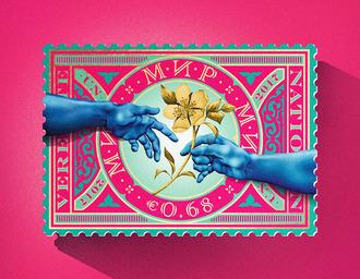 联合国国际和平邮票