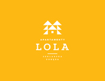 LOLA Apartamenty - Pensjonat Szklarskia Por?ba 酒店品牌视觉形象设计