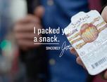 "Justin's ""I Packed You a Snack""包装设计"