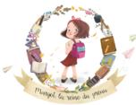 margot the queen of the school yard 插画