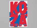 KOZA 海报设计