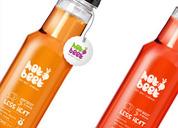 现榨果汁饮料品牌形象包装设计(Hotbeet)