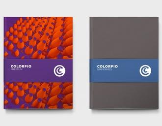 colorfio malhas 品牌形象设计