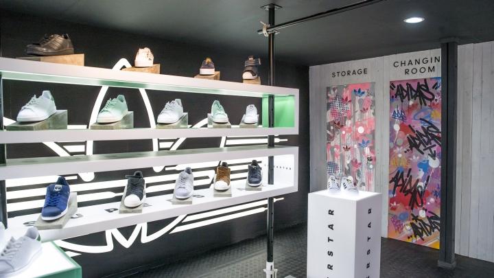 迪拜阿迪达斯专卖店设计