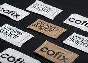 COFIX - fixed price coffeeshops chain 包装设计