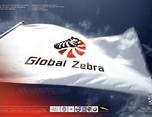 环球斑马logo形象设计