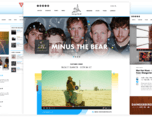 Dangerbird唱片公司网页设计
