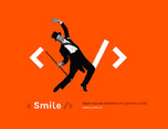 smile IT服务技术品牌形象设计