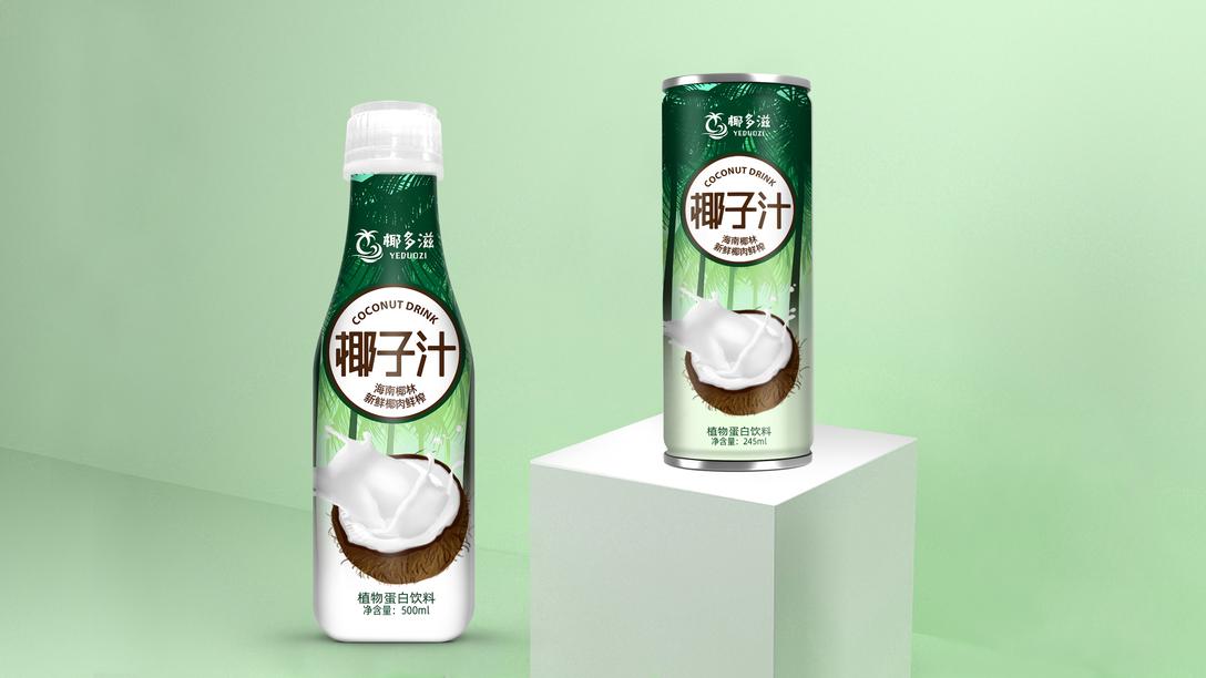 椰子汁包装设计x贾颖楼农村设计图二层别墅图片