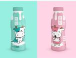 毒柚设计——比格伦酸牛奶品牌包装设计