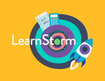 Khan Academy LearnStorm免费教育平台视觉形象设计