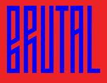 巴西BRUTAL艺术画廊展品牌设计