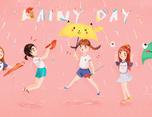 Rainy day的创作过程(视频+构思)