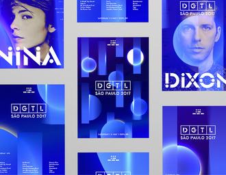 DGTL Festival 品牌形象设计