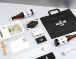AuMarchnoir餐厅品牌形象设计