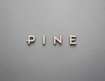 Pine typeface   图形设计+字体设计