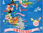 泰国旅游地图 |Thailand map