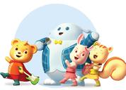 婴姿坊品牌动漫形象指南设计分享