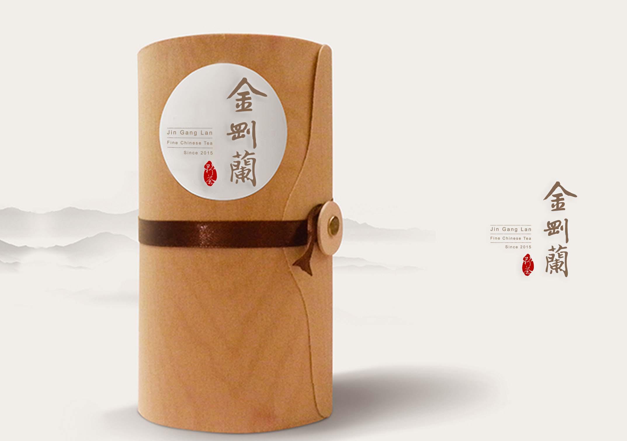 金刚兰野茶logo设计