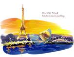 趣至绘馆出品:良辰美景旅游社卡通形象设计