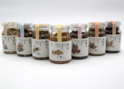 问农花草茶系列包装设计