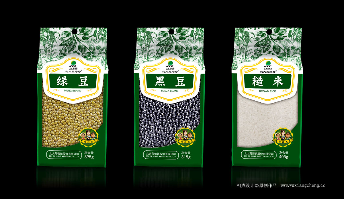 北大荒五谷杂粮品牌包装设计 相成原创品牌设计